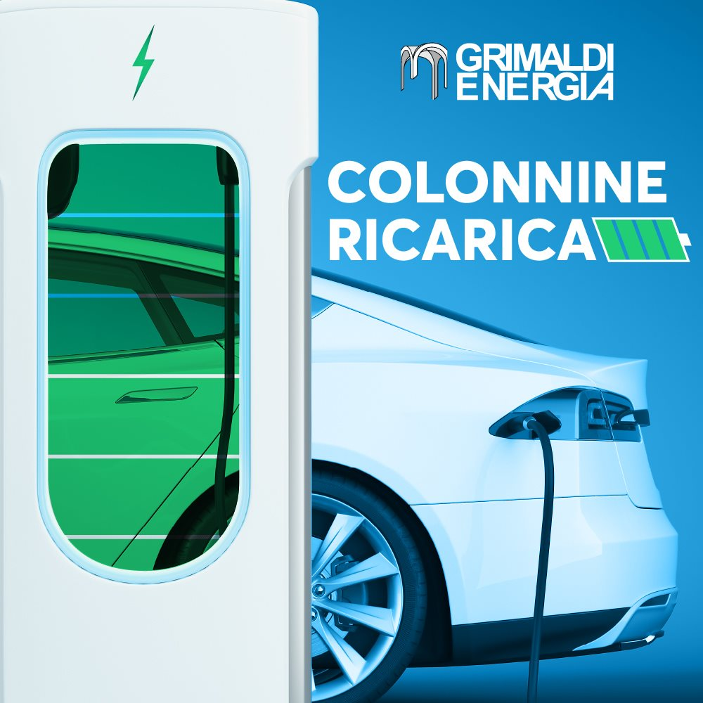Grimaldi energia colonnine auto elettriche